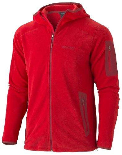 Marmot Men's Reactor Fleece Hoody - Team Red, Large