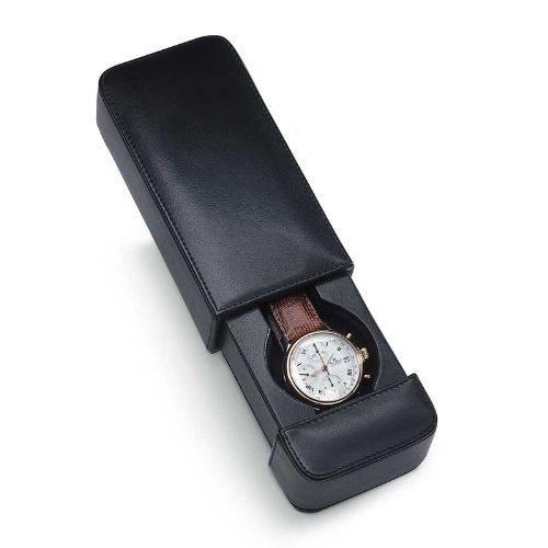 Venlo Travel Watch Case Italian Leather Milano 1