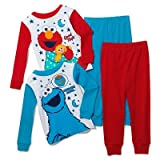 Sesame Street Elmo & Cookie Monster Pajama Set