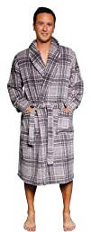PajamaMania Mens Fleece Robes