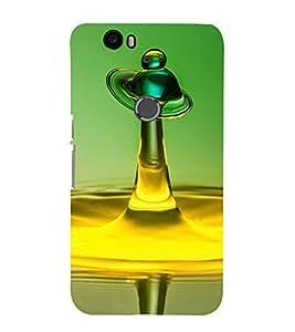 Vizagbeats Water Drop Back Case Cover for Huawei Google Nexus 6P