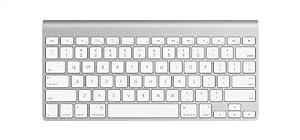 Apple Wireless Keyboard (deutsches Tastaturlayout, QWERTZ)