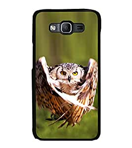 Printvisa Ultra Prowling Owl 2D Hard Polycarbonate Designer Back Case Cover for Samsung Galax...