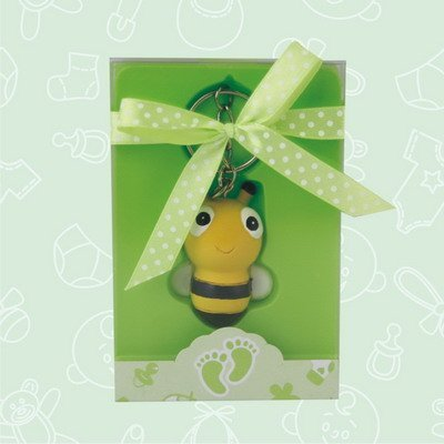 36 Baby Shower Baby Bumblebee Keychain Favor In Box Favors Gift Keepsake Favor front-1076913