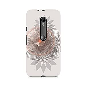 Motivatebox- Spirograph Premium Printed Case For Moto G3 -Matte Polycarbonate 3D Hard case Mobile Cell Phone Protective BACK CASE COVER. Hard Shockproof Scratch-