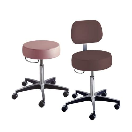 Moore Medical Deluxe Pneumatic Exam Stool W/ Back   Model 11001B   Each