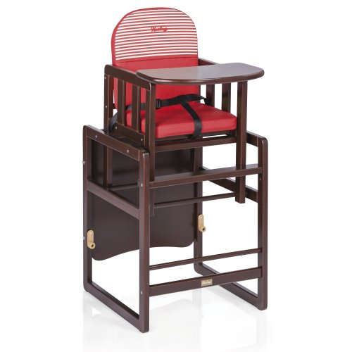 preisvergleich und test herlag h4852 3628 hochstuhl kombi set tx braun gebeizt. Black Bedroom Furniture Sets. Home Design Ideas