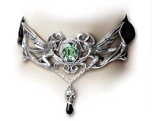 La Fleur de Baudelaire Gothic Choker style Necklace
