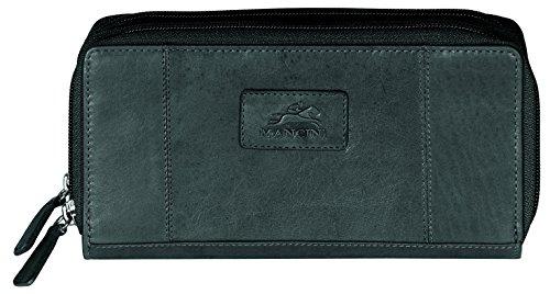 mancini-leather-goods-ladies-rfid-double-zipper-clutch-wallet-black