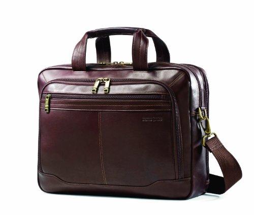 Samsonite 新秀丽 Colombian Leather Toploader 真皮公文包一站式海淘,海淘花专业海外代购网站--进口 海淘 正品 转运 价格