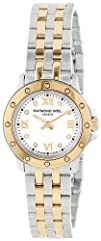 Raymond Weil Womens 5799-STP-00995 Diamond-Accented Two-Tone