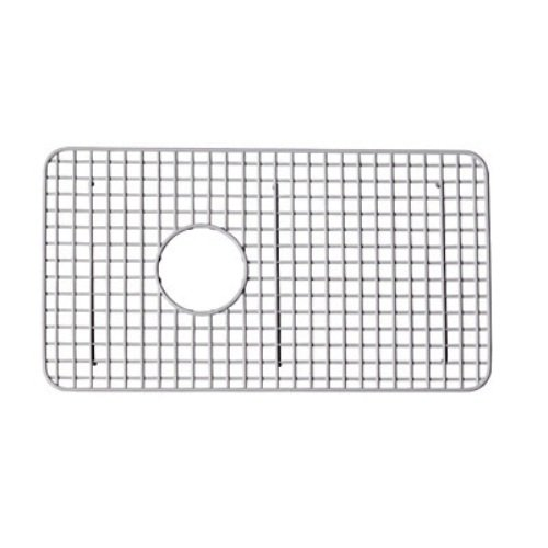 Rohl Wsg3018Ss 14-5/8-Inch By 26-1/2-Inch Wire Sink Grid For Rc3018 Kitchen Sinks In Stainless Steel front-38194