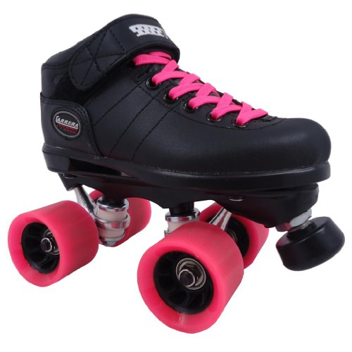 buy riedell carrera pink nitro quad indoor roller derby speed skates new black friday zone. Black Bedroom Furniture Sets. Home Design Ideas