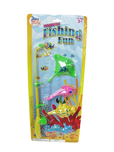 Warm Fuzzy Toys Magnetic Fishing Fun Game - 1