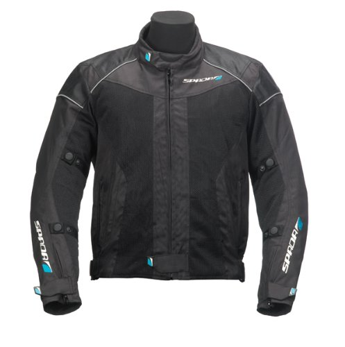 Spada Textile Jacket Air Pro Black