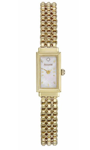 Accurist 9ct Gold Ladies Bracelet Watch &#8211; GD1610L