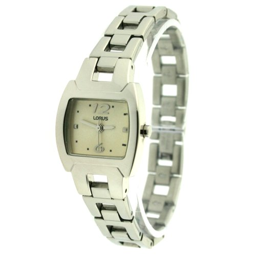 Lorus Ladies Watch Link Bracelet Creme Dial