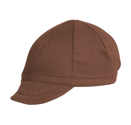 Pace Euro Brushed Twill Nutmeg Cycling Cap