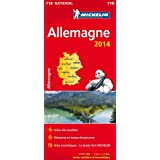 Carte Allemagne 2014 Michelin