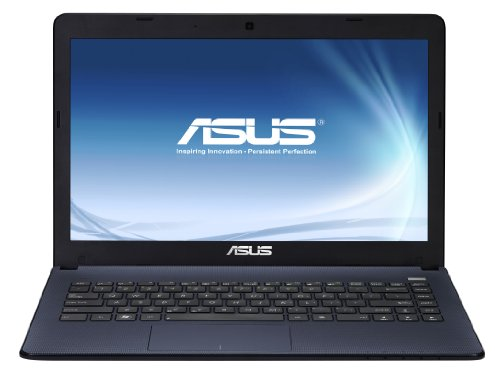 Asus X401A 14.1-inch Laptop (Black) (Intel Celeron B820 1.7GHz, 4GB RAM, 320GB HDD, LAN, WLAN, Webcam, Integrated Graphics, Windows 7 Home Premium 64-Bit)
