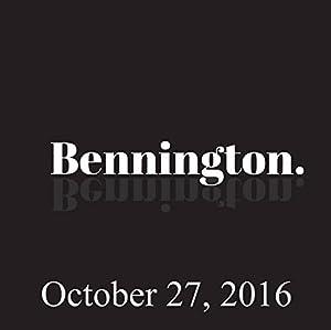 Bennington, Simon Reynolds, October 27, 2016 Radio/TV Program