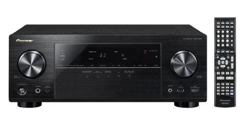 Pioneer Channel AV Receiver, VSX-1023-K (Black)