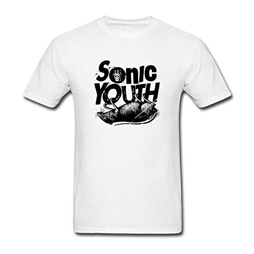 UKCBD -  T-shirt - Uomo bianco Large