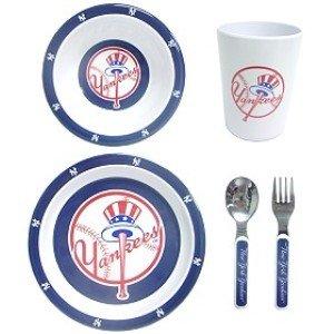 New York Yankees 5 Piece Children's Dinner Set - Buy New York Yankees 5 Piece Children's Dinner Set - Purchase New York Yankees 5 Piece Children's Dinner Set (Home, Home & Garden, Categories, Kitchen & Dining, Tableware)