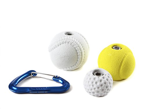 3 Sports Balls l Climbing Holds l Real Life Colors