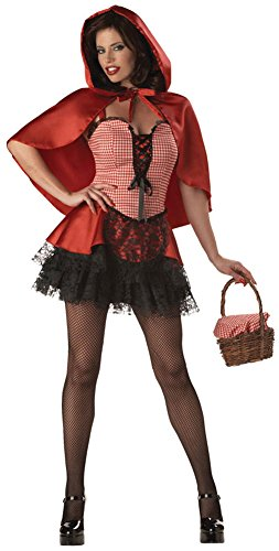 Red Hot Riding Hood Adult M Halloween Costume