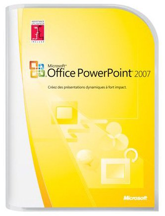Microsoft PowerPoint 2007  French (vf) Version Upgrade