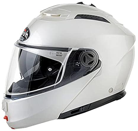 Airoh PH112XL Casque Flip-Up, Blanc, Taille : XL