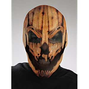 Morris Costumes Pumpkin Scary Mask
