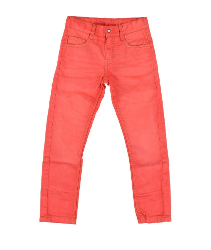 Lemmi Jungen Jeans Boys Hose regular fit SLIM L3250049602, Gr. 176, Rot (flame scarlet|red)