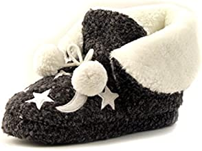 Luckers Women39s WS Midnight Moon and Stars Slippers Booties