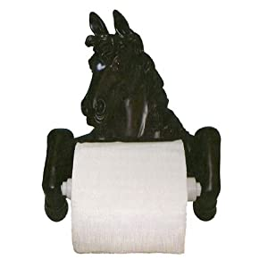 Horse Toilet Paper Holder Lodge Bathroom Decor Cabin. Precio: $10.95