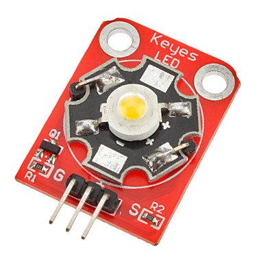 Zcl Keyes 3W 180~210Lm 6000~7000K Led High Power Module For Arduino (Works With Official Arduino Boards)