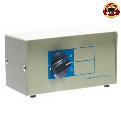 Netcna - 1 Pack X 2-Way BNC Manual Switch Box (2in/1out) - High Quality