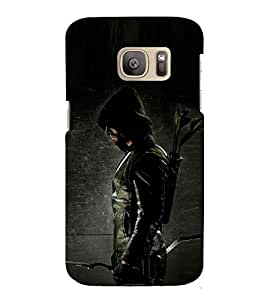 Archer ready for aim 3D Hard Polycarbonate Designer Back Case Cover for Samsung Galaxy S7 :: Samsung Galaxy S7 G930F :: Samsung Galaxy S7 Duos G930FD