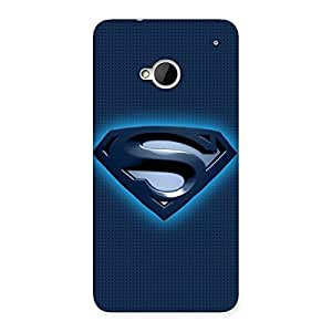Ajay Enterprises Exant Super Blues Back Case Cover for HTC One M7
