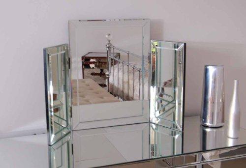 my furniture colleta specchiera richiudibile a 3 ante per la toeletta e per la camera da letto a. Black Bedroom Furniture Sets. Home Design Ideas