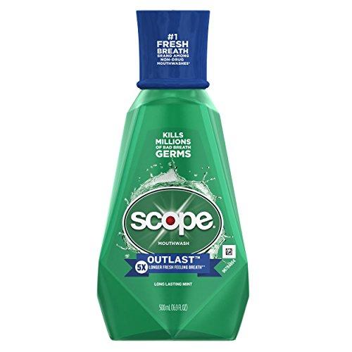 Scope Outlast Mouthwash, Long Lasting Mint, 16.9 fl oz