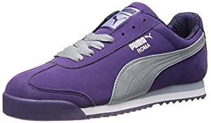 PUMA Women's Roma Nbk Tort Women's Sneaker,Parachute Purple/Quarry/PUMA Silver,10 B US