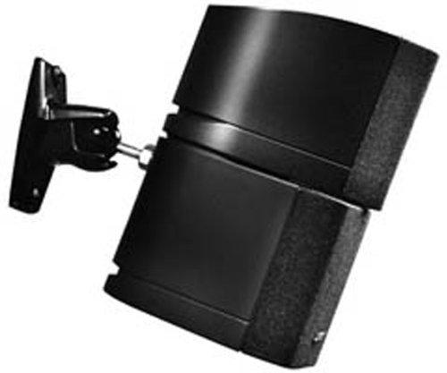 Omnimount Genuine Stainless Steel Universal Speaker Mounting Kit - Black