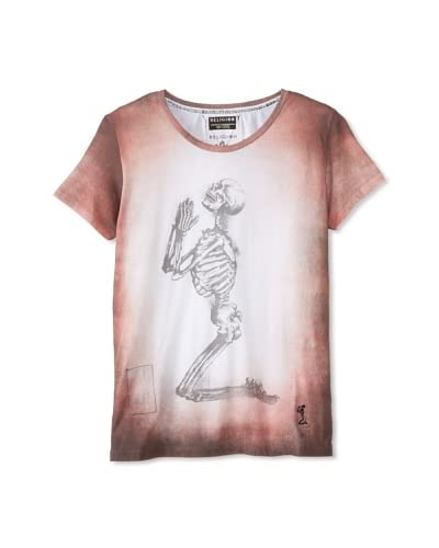 Religion Men's Praying Skeleton Tee
