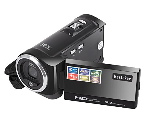 Camera-Camcorders-Besteker-Portable-Digital-Video-Camcorder-HD-Max-160-Megapixels-1280720P-DV-27-Inches-TFT-LCD-Screen-16X-Zoom-Camera-Recorder