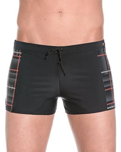 SPEEDO Shorts da Bagno Oceanfeel Asht Am [Nero/Rosa/Grigio]