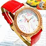 Red 2013 New Fashion Watch For Girls...