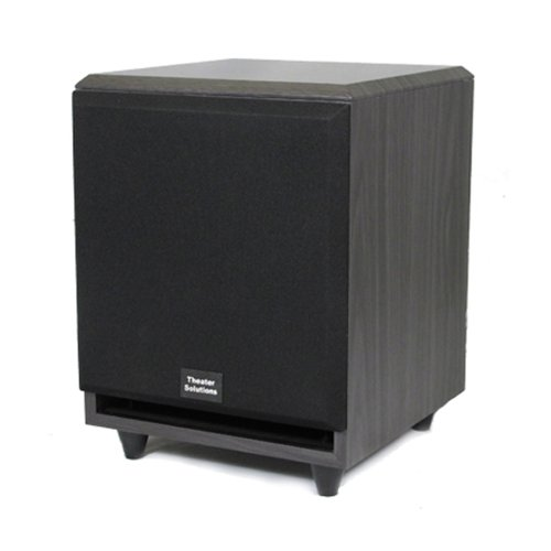 Theater Solutions Sub6F Front Firing Powered Subwoofer (Black)