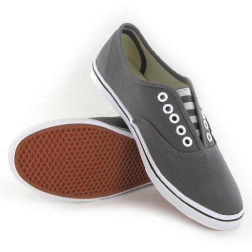 vans lo pro womens grey